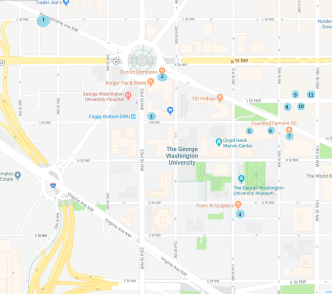 map restaurants